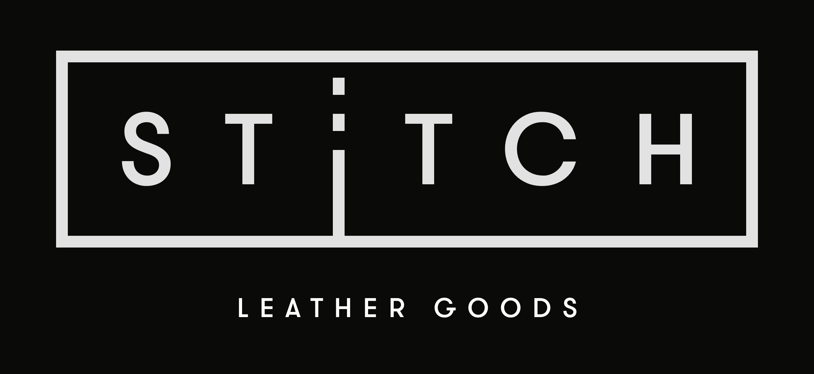Minimalist Luxury Leather Goods by Stitch Leather Goods