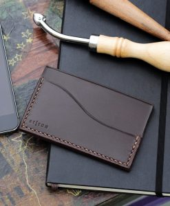 Minimalist Luxury Slim Leather Card Wallet KLP-10