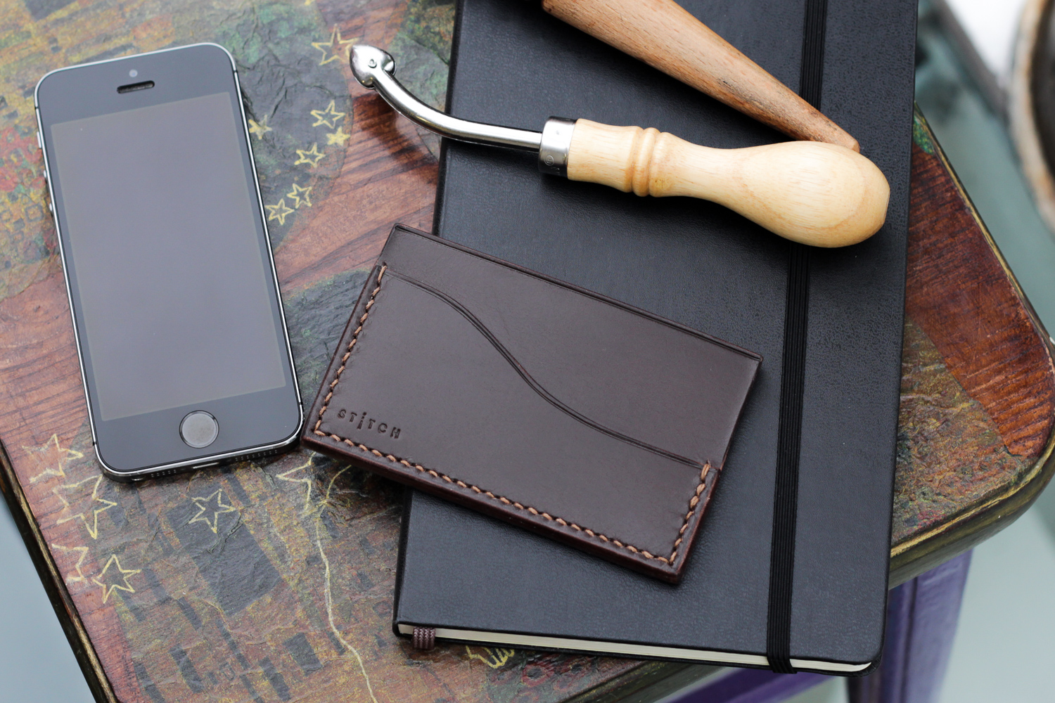 Minimalist Luxury Slim Leather Card Wallet KLP-3. Home   All products 4a4985d367185